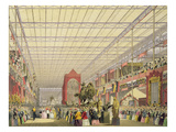 View of the Foreign Nave of the Great Exhibition of 1851  from Dickinson's Comprehensive Pictures