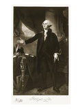 George Washington  1st President of the United States of America  Pub 1901