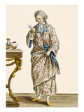 Dressing Gown in Printed Cotton  Engraved by Patas  Plate No140