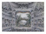 The Comedie Francaise  C1791 (W/C on Paper)
