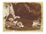 The Bedfellows  C1843-47 (Salted Paper Print from Calotype Negative)