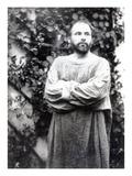 Gustav Klimt  C1900 (B/W Photo)