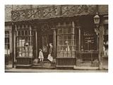 Grocery Shop at 56 Artillery Lane  Off Bishopsgate  from 'Wonderful London'  Published 1926-27