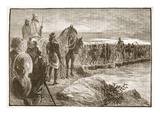 Xerxes Crossing the Hellespont (Litho)