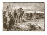 Xerxes Crossing the Hellespont (Litho)