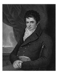 Robert Fulton (1765-1815)  Engraved by George Parker (Fl1834-D1868) (Engraving)