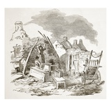 Scalpeen of Tim Downs  at Dunmore  from 'The Illustrated London News'  1849 (Engraving)
