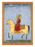 The Mughal Emperor Farrukhsiyar(1683-1719) (R1713-19)  from the Large Clive Album