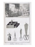 Tailor  from the 'Encyclopedie Des Sciences Et Metiers' by Denis Diderot (1713-84) Published C1770