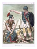 Praetorian Guard  Illustration from 'L'Antique Rome'  Engraved by Labrousse  Published 1796