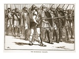 The Macedonian Phalanx (Litho)