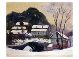 Sandviken  Norway  1895 (Oil on Canvas)