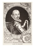 Michel De Montaigne (Litho)