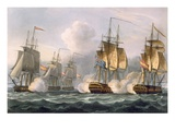 Capture of the Dorothea  July 15th 1798  Engraved by Thomas Sutherland