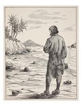 Robinson Crusoe on His Island