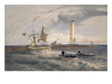 The Lighthouse at Cape Chersonese  Plate from 'The Seat of War in the East'