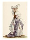 Lady's Robe 'A La Grecque'  from 'Galeries Des Modes Et Costumes Francais'  C1778-87