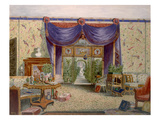 The Chinese Room at Middleton Park  Oxfordshire  1840 (W/C on Paper)