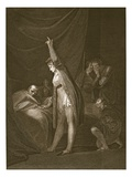The Death of Cardinal Beaufort  Engraved by W Bromley