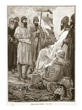 Cyrus and Croesus (Litho)