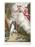 Jove in Love with Io  Book I  Illustration from Ovid's Metamorphoses  Florence  1832