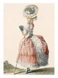 Ladies Promenade Dress  Engraved by Dupin  Plate from 'Galeries Des Modes Et Costumes Francais'