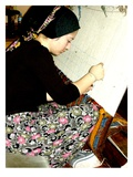 Girl Weaving a Wool Carpet  Turkey (Photo)