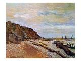 Boatyard Near Honfleur  1864