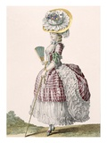 Lady Dressed in a Polonaise Style Dress  Engraved by Dupin  Plate No82