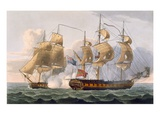 Capture of the Liguria  August 7th 1798  Engraved by Thomas Sutherland