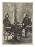 The Meeting of Napoleon and the King of Prussia  September 1870