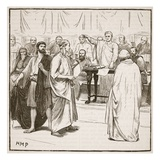 The Sophists Expelled from Rome (Litho)