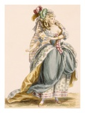 Lady&#39;s Costume Based on the Opera &#39;La Trevesti&#39;  Engraved by Bacquoy 
