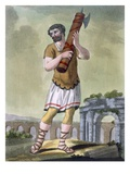 A Lictor  Bearer of the Fasces  Illustration from 'L'Antique Rome'  Engraved by Labrousse
