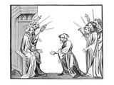 King Charlemagne (742-814) Receiving the Oath of Fidelity and Homage