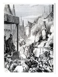Joan of Arc at the Stake (Engraving)