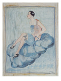'La Garconne'  C 1925-30 (Painted Silk)
