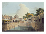 A Baolee Near the Old City of Delhi  Plate Xviii from Part 4 of 'Oriental Scenery'  Pub 1802