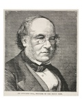 Sir Rowland Hill  Founder of the Penny Post (Litho)