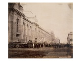 Cromwell Road  March 1862 (Sepia Photo)
