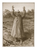 Kamerad Pardon! Hands-Up Method of German Surrender (Litho)
