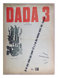 Revue Dada No3  December 1918 (Colour Litho)