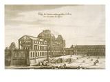 Palais Du Louvre (Engraving)