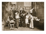 Behind the Scenes: Preparing for Amateur Theatricals  Handforth