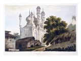 A Mosque at Gazipoor  1787 (Aquatint) (See also 179847)