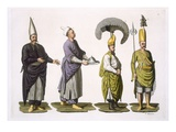 Head Baker  Head Cook and Other Examples of Ottoman Costume  Plate 4