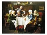 A Grandmother's Tea Party  1915