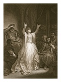 Condemnation of Anne Boleyn  Engraved by George Noble