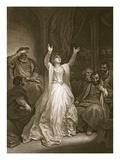 Condemnation of Anne Boleyn  Engraved by George Noble