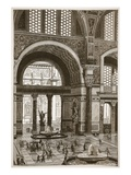 Baths of Caracalla (Restored) (Litho)